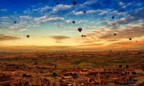 TURCJA / Kapadocja / Kapadocja / Balony nad Kapadocj�