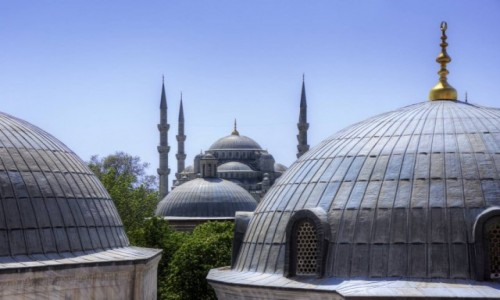 TURCJA / İstanbul / Stambu� / B��kitny Meczet
