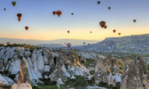 Zdjęcie TURCJA / Anatolia / Kapadocja / Kapadocja