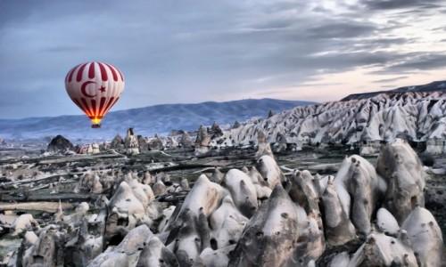 Zdjęcie TURCJA / Kapadocja / Goreme / Magiczny poranek