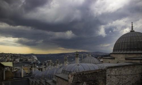 Zdjęcie TURCJA / - / Stambuł / panorama Stambułu