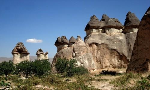 TURCJA / Kapadocja /   / Wśród skał Kapadocji.