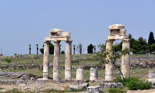 Zdjęcie TURCJA / Pamukkale / Bodrum / Ruiny Pamukkale