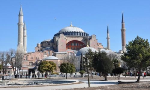 Zdjęcie TURCJA / Istambuł / stary Istambuł / Hagia Sophia