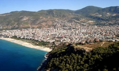 Zdjęcie TURCJA / Riwiera Turecka. / Alanya / Rzut oka na plażę Kleopatry.