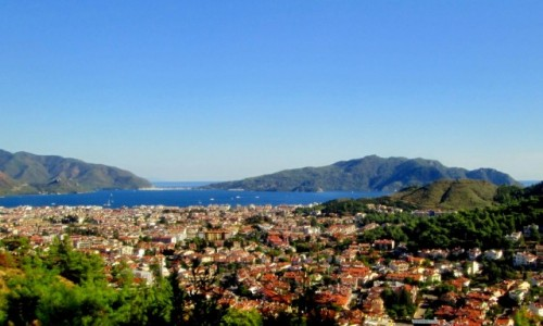 Zdjecie TURCJA / Wybrzeże Egejskie / Marmaris / Panorama Marmaris