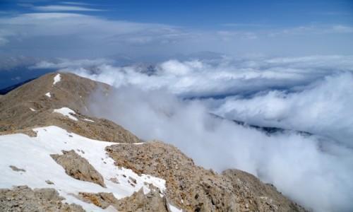 Zdjecie TURCJA / Turecka Riwiera / Kemer  / - w chmurach -