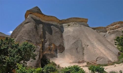 Zdjęcie TURCJA / centralna Anatolia / Kapadocja / formy tufowe