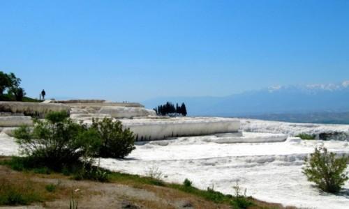 Zdjecie TURCJA / Park Narodowy Pamukkale / Pamukkale / Prawie jak w zimie