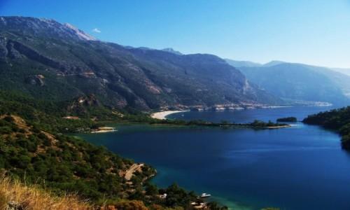 TURCJA / Riwiera Turecka / Oludeniz / Piękne i słynne Oludeniz