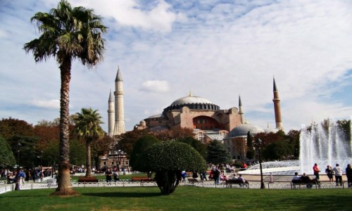 Zdjęcie TURCJA / Stambuł / Stambuł / Hagia Sophia