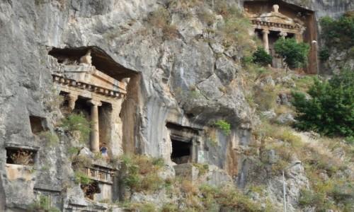 Zdjęcie TURCJA / Turcja Egejska / Fethiye / Grobowce Likijskie