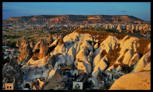 Zdjęcie TURCJA / Cappadocia / Goreme / Goreme