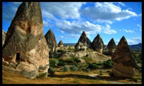Zdjęcie TURCJA / Cappadocia / Goreme / Goreme rocks