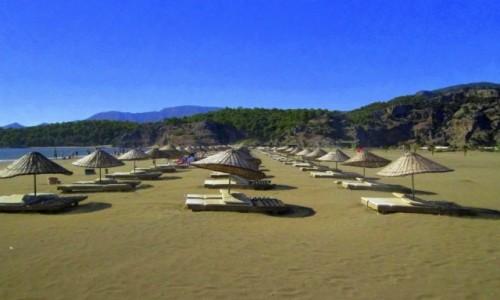 TURCJA / Wybrzeże Egejskie / Iztuzu / Plaża Iztuzu