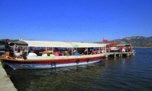 TURCJA / Wybrzeże Egejskie / przy plaży Iztuzu / Przystanek przy ujściu (do artykułu)