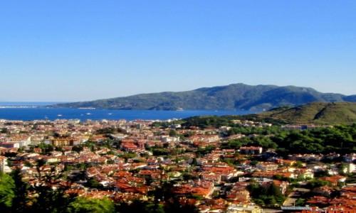 Zdjecie TURCJA / Wybrzeże Egejskie / Marmaris / Widok na miasto