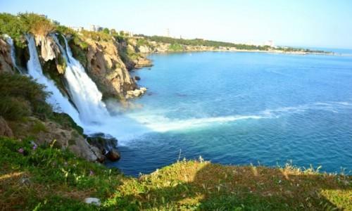 Zdjecie TURCJA / - / Antalya / Wodospad arbuzowy