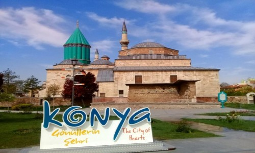 Zdjecie TURCJA / - / Konya / Meczet i muzeum Mevlana