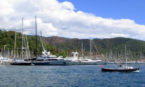 Zdjecie TURCJA / Wybrzeże Egejskie / Marmaris / Port Marmaris