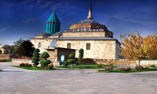Zdjęcie TURCJA / Wyżyna Anatolijska / Konya /  Muzeum Mevlâna
