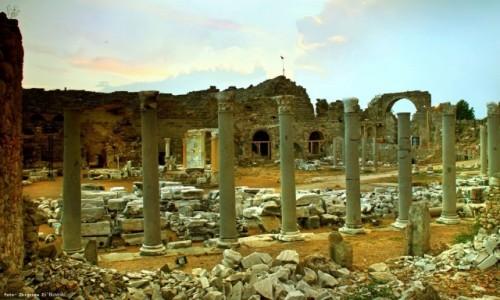 Zdjecie TURCJA / południowej Turcji / Side / Rządy rzymskie w Side