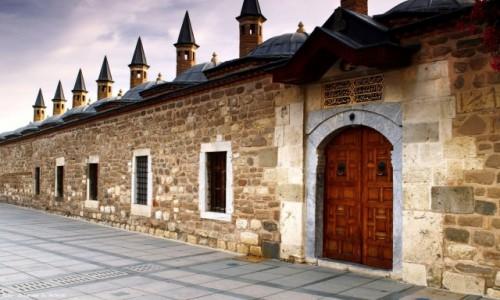 TURCJA / Wyżyna Anatolijska / Konya / (Kompleks meczetowy Sahip Ata),