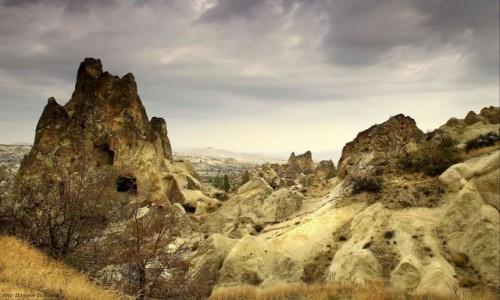 Zdjecie TURCJA / Wyżyna Anatolijska / Kapadocja / Bajkowe kominy Kapadocji