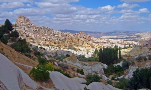 TURCJA / Anatolia / Kapadocja / Dolina