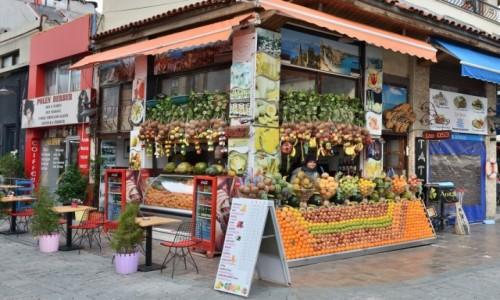 Zdjecie TURCJA / Riwiera Turecka / Antalya / Kiosk z kolorami