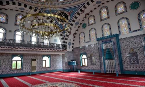 Zdjecie TURCJA / Riwiera Turecka / Antalya / Błękit meczetu