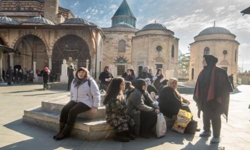 Zdjecie TURCJA / Anatolia / Konya / Muzeum Mevlany