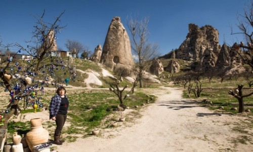 Zdjecie TURCJA / Anatolia / Goreme / Kapadocja