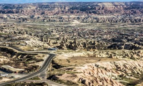 Zdjecie TURCJA / Anatolia / Kapadocja / ptasia perspektywa