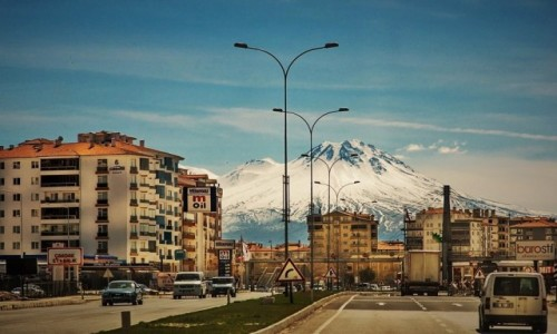 Zdjecie TURCJA / Anatolia / Seydisehir / na trasie