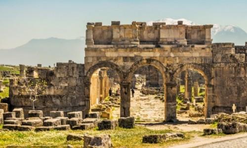 Zdjęcie TURCJA / Anatolia / Hierapolis / Hierapolis