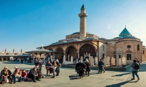 Zdjecie TURCJA / Anatolia / Konya / klasztor wirujących derwiszy