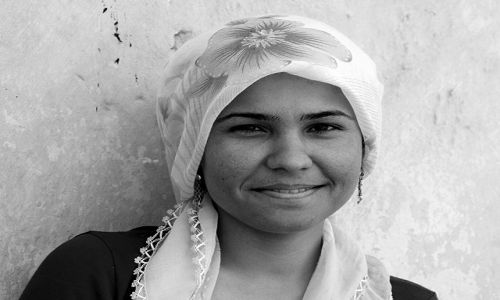 Zdjęcie TURCJA / Wschodnia Anatolia / Diyarbakir / dziewczyna z Diyarbakiru