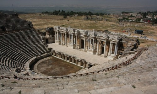 Zdjecie TURCJA / Anatolia / Hierapolis / Hierapolis
