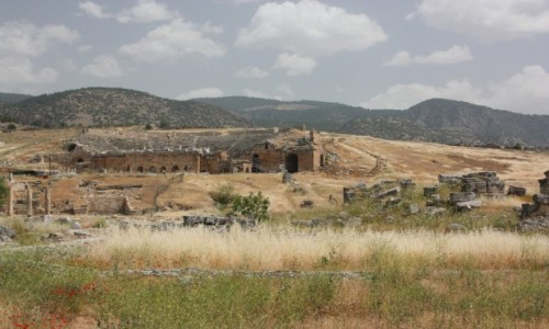 TURCJA / Anatolia / Hierapolis / Hierapolis 3