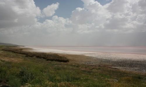 TURCJA / Anatolia / Jezioro Tuz / Słone jezioro Tuz