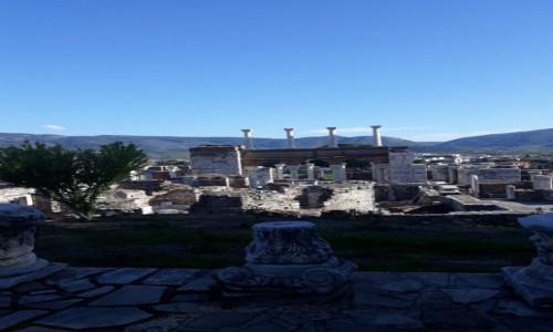 Zdjecie TURCJA / Zachód Kraju / Okolice grobu Świętego Jana / Bazylika św. Jana - Efez