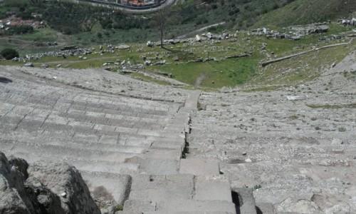 Zdjecie TURCJA / wschód kraju / Pergamon / Teatr Pergamon