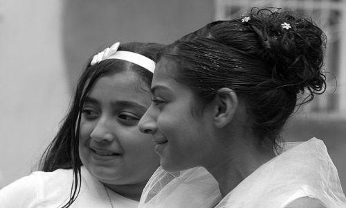 Zdjecie TURCJA / Wschodnia Anatolia / Diyarbakir / dziewczynki z Diyarbakiru