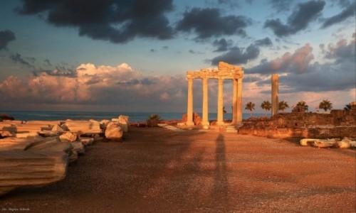 Zdjecie TURCJA / południowa Turcja / Side / Ruiny Świątyni Apolla