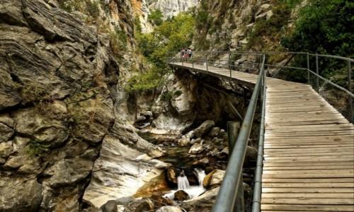 Zdjecie TURCJA / Side / kanion / Idąc wzdłuż kanionu....