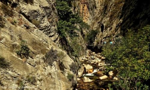 Zdjecie TURCJA / górach Taurus.  / Wioska Sapadere / Kanion Sapadere