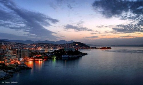 Zdjecie TURCJA / Turcja Egejska  / Kusadasi / Widok na Ptasią wyspę