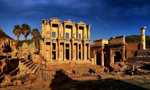 Zdjecie TURCJA /  Azji Mniejszej / Efez / Stanowisko archeologiczne w Efezie