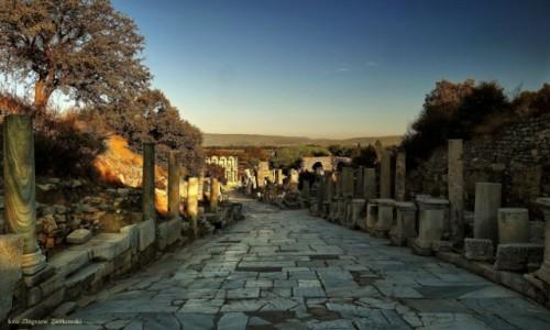Zdjecie TURCJA /  Azji Mniejszej / Efez / Miasto starożytne
